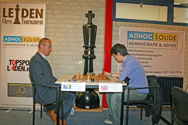 Talentvolle jeugd in Leiden Chess Tournament