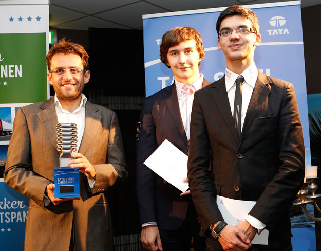 Aronian wint Tata Steel Chess Tournament