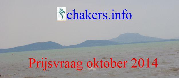 Prijsvraag oktober 2014