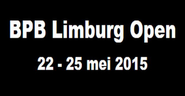BPB Limburg Open: Inschrijving gesloten en 425 deelnemers