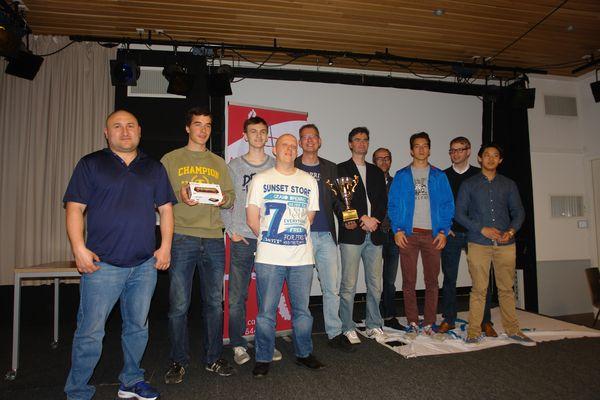 Meesterklasse: Charlois Europoort kampioen, Groninger Combinatie degradeerd