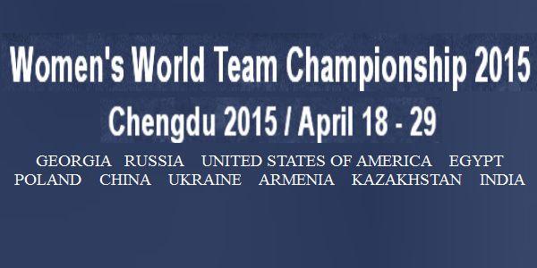World Women Team Championship 2015: Georgie kampioen
