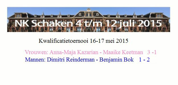 NK kwalificatie: Benjamin Bok en Anna-Maja Kazarian geplaatst