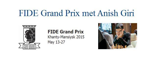 FIDE Grand Prix met Anish Giri: Anish eindigt op plaats acht