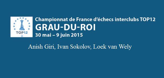 Franse Top 12, Anish Giri met Bischwiller Frans team kampioen