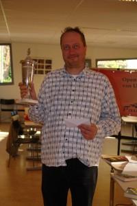 Csaba Horvath, winnaar van de OKU-beker (foto: René Olthof