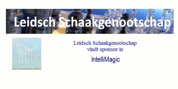 Leidsch Schaakgenootschap vindt sponsor in IntelliMagic