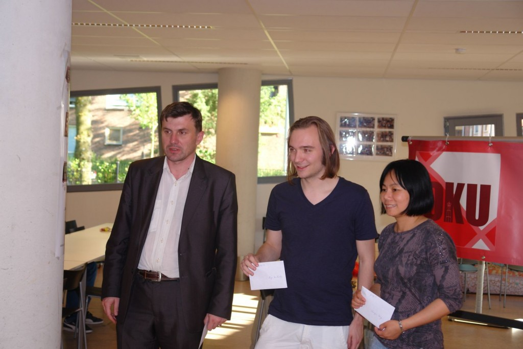 Malakhatko, Ten Hertog en Peng gedeeld eerste (foto: René Olthof)