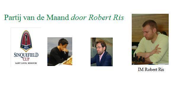 Partij van de maand september door Robert Ris
