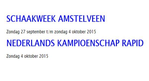 Anish Giri speelt NK Rapid op zondag 4 oktober in Amstelveen