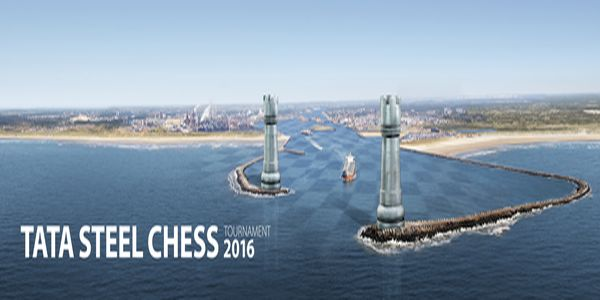 Wereldkampioen Carlsen op Tata Steel Chess Tournament 2016