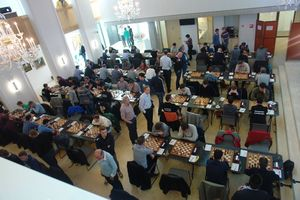 Speelzaal 06 - 9e ronde KNSB-competitie Bloemendaal 2016 (Olthof)