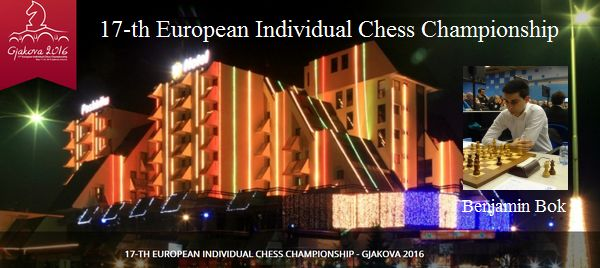 17-th European Individual Chess Championship: Benjamin speelt onopvallend toernooi