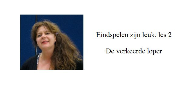 Erika Sziva: Eindspelen zijn leuk: les 2