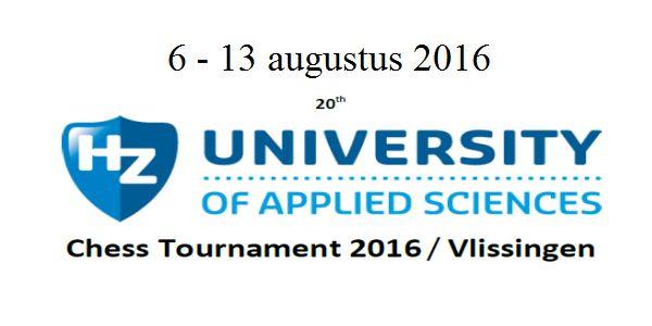 20e Hogeschool Zeeland Schaaktoernooi: Loek van Wely wint toernooi