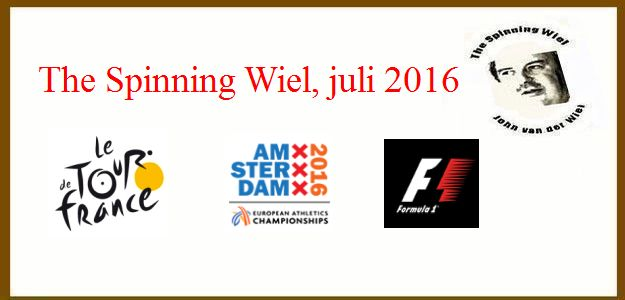 The Spinning Wiel, juli 2016, Is er weer sport?