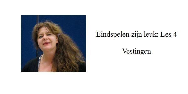 Erika Sziva: Eindspelen zijn leuk: les 4: Vestingen