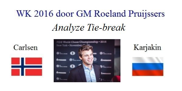 WK 2016: Tie-Breaks: Analyse door Roeland Pruijssers