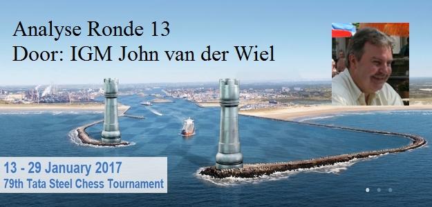 Tata Steel 2017, 13e en laatste ronde door John van der Wiel
