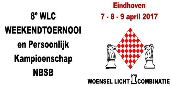 WLC Weekendtoernooi: 7, 8 en 9 april 2017: Alexandre Dgebuadze wint toernooi