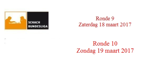 Schachbundesliga 2016 – 2017: Ronde 10: De Nederlanders