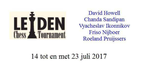 India regeert Leiden Chess Tournament 2017
